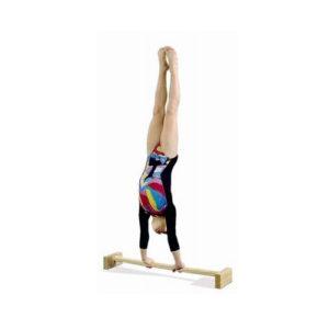 Młoda gimnastyczka